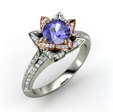 colored engagement rings blue color gemstone engagement ring trendy mods