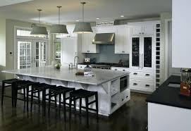 Size Of Kitchen Island With Seating Island With Seating Must See Practical Kitchen Island Designs With