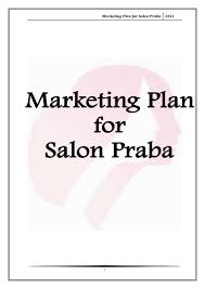 Job Description For Hair Stylist Marketing Plan For Salon Praba
