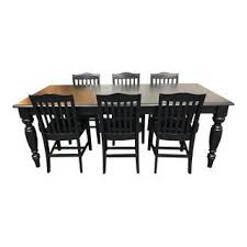 Dining Table And Six Chairs Vintage U0026 Used Dining Table U0026 Chair Sets Chairish