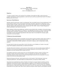 warehouse resume summary of qualifications exles for movies combination resume exle a combination resume contains the