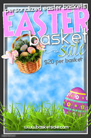 easter baskets for sale easter basket sale template postermywall