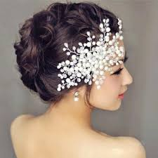 bridal hair accessories married korean flower flower