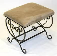 Vanity Chair Bathroom by Engaging Design Ideas Using Rectangular Brown Metal Pillars And