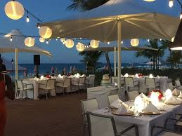 beautiful lighting and ambience picture of solana restaurant