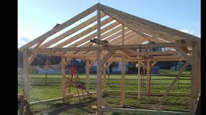 24x30 horse barn build youtube