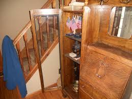 Antique Curio Cabinet With Desk Secretary Desk Curio Cabinet For Sale Antiques Com Classifieds