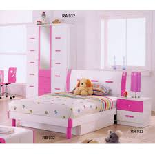 childrens bedroom furniture youth bedroom set in pink and white
