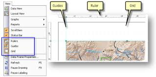 layout view zoom a quick tour of page layouts help arcgis for desktop