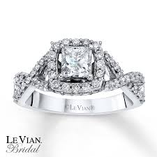 levian wedding rings le vian bridal ring 1 1 4 ct tw diamonds 14k vanilla gold
