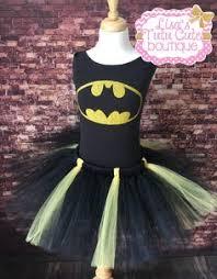 Halloween Costume Batgirl Batgirl Tutu Costume Batman Tutu Costume Clickandbloom