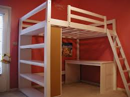 how to build a full size loft bed ana white build a full size playhouse loft bed with storage stairs