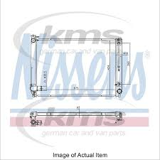 lexus radiator rx 350 price new radiator nissens 646887 top quality ebay