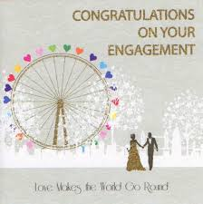 engagement congratulations card mojolondon london eye engagement card by five dollar shake