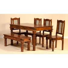 Jali Dining Table And Chairs Jali Dining Set With 4 Chairs And A Bench Sublime Exports
