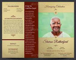 funeral program funeral brochure template bbapowers info