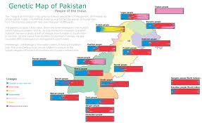 Genetic Map Genetic Proof That Pakistanis Are Different From Indians
