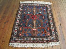 Navy Blue Bathroom by Vintage Kilim Rug Persian Area Rug Navy Blue 3x4 U0027 Bathroom Rug