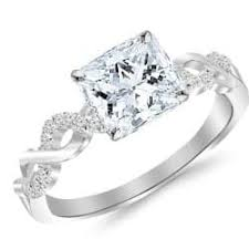 Princess Cut Wedding Ring by Princess Cut Wedding Rings One Of The Most Popular Cuts When It