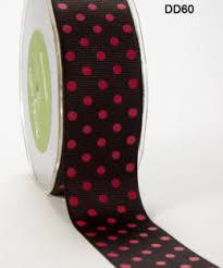 maroon ribbon 1 5 inch grosgrain dots ribbon may arts wholesale ribbon