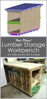 diy portable workbench with storage free plans rogueengineer