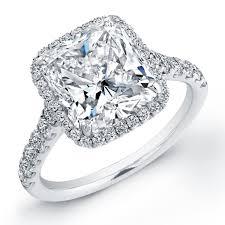 Diamond Cushion Cut Ring Cushion Cut Diamond Prong Set Ring With Micro Pave U2014 Revere Jewels