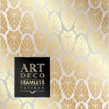 Papier Peint Art Nouveau Sans Couture Papier Peint Art Deco U2014 Image Vectorielle 79117900