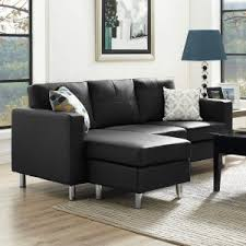 Faux Leather Sectional Sofa Faux Leather Sectional Sofas Hayneedle