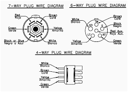 wiring diagrams 5 pin trailer plug 7 prong lovely utility diagram