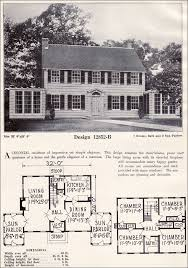 colonial revival house plans absolutely symmetrical colonial revival c l bowes company