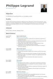 Resume For Real Estate Job by Real Estate Resume Sample 3 Resume Of A Real Estate Agent With