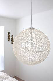 Diy Hanging Light Fixtures My Finished Diy Pendant Light Via Made By Made By