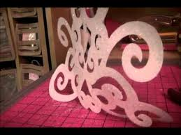 cricut expression storybook 3d chandelier home decor youtube