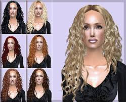 hair color to download for sims 3 mod the sims latin passion helga s curly hair conversion