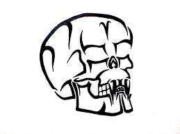 tribal skull version 1 by soldiersfate on deviantart