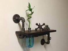 Black Pipe Bookshelf Black Pipe Shelves Stoney Creek Design My Home To Be