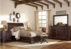 platform bedroom suites picture of whitmore cherry 5 pc queen platform bedroom from queen