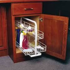 Under Kitchen Sink Pull Out Storage by Hafele 4 5 16 Inch Wide Modular Aluminum And Plastic Base Cabinet