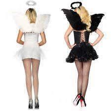 Angel Costume Halloween Angel Wings Costume Ebay