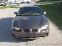 2001 used pontiac grand prix 4dr sedan gt at signature autos inc