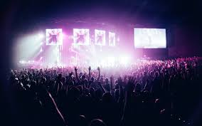people in concert free stock photo
