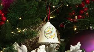 belleek 12 days of christmas bell series ornaments on qvc youtube