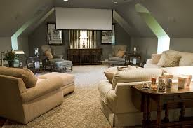 Ceiling Ls For Living Room Media Room With Large Sectional Sofa Sueded Pillows And Window