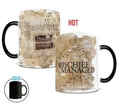 Harry Potter Marauders Map Harry Potter Marauders Map I Solemnly Swear Heat Sensitive Mug