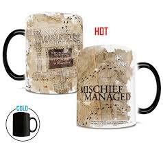 harry potter marauders map i solemnly swear heat sensitive mug