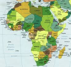 Map South Of France by Carte Afrique Map Of Africa Africa Pinterest Africa Africa