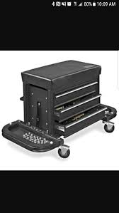 uline rolling tool cabinet uline black rolling tool chest seat un opened tools machinery