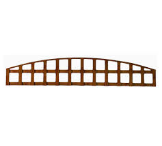 arched top heavy duty trellis panel stockport fencing