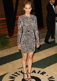 Jennifer Lawrence Vanity Fair Party After The Oscars What The Stars Wore Party Hopping Thefashionspot