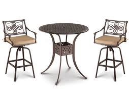 Wrought Iron Patio Dining Set - how to protect outdoor furniture from snow and winter damage with
